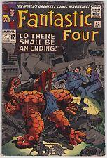 Fantastic Four #43 G-Vg 3.0 Frightful Four Stan Lee Jack Kirby Art!
