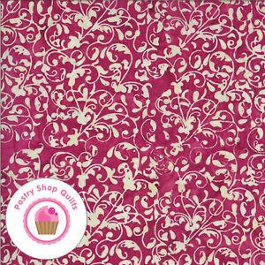 MALIBU BATIKS 4357 13 Red MODA BATIKS Quilt Fabric