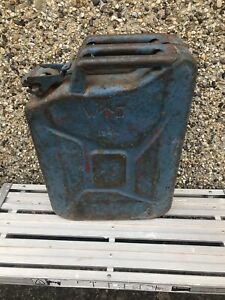 Old WWII WW2 Vintage British Military Army Jerry Can WD 1944 War Department