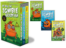 My Big Fat Zombie Goldfish Box Set 1-3 SeaQuel, Fins of Fury by Mo O'Hara