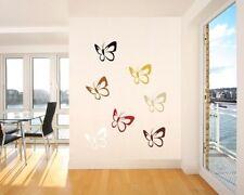 Wandtattoo Schmetterlinge 175 Wand BUNTE Aufkleber für Kinderzimmer Wohnung DEKO