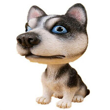 Hight Quality Siberian Husky Dog Bobbing Bobblehead Doll Nodding Car home Decor