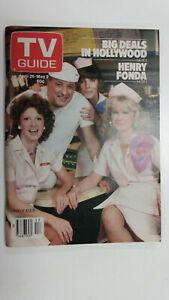 TV GUIDE Canada Cast of ALICE          Vol 4 #17 - April 26 1980 - Issue No. 174