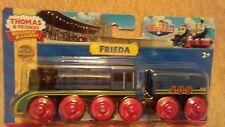 FRIEDA Thomas Tank Engine Wooden Railway NEW IN BOX