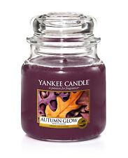 Yankee Candle Duftkerze Classic Jar mittel  411g    Autumn Glow