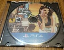 New listing Grand Theft Auto V Ps4 Playstation 4 Disc Only Untested