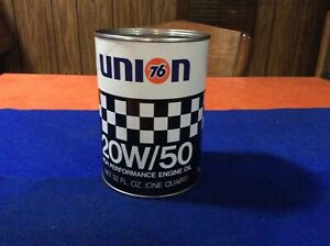 Old, Original, UNION 76, RACING OIL oil can, (nos)