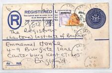 AN359 1996 NIGERIA Lagos REGISTERED Cover GB Canterbury