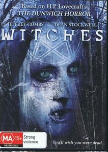 WITCHES DVD Jeffrey Combs & Dean Stockwell NEW & SEALED Free Post