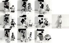 "Michael Lau - Crazychildren black and white - Complete with secret figure - 6"""