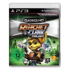 Sony ps3 PlayStation 3 juego the Ratchet & Clank Trilogy HD trilogía and y * nuevo