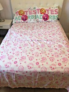Shopkins 4 Piece Full Bed Sheet Set