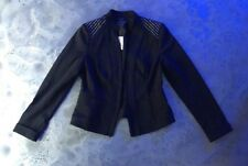 $138 WHITE HOUSE BLACK MARKET STUDDED CAREER BLAZER FITTED SUIT JACKET 10