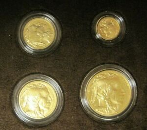 2008 U.S. Gold Buffalo COLLECTOR SET of 4 $50 25$10$ 5$