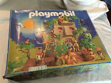 VINTAGE PLAYMOBIL #3015 JUNGLE RUINS Playset w/ TONS OF EXTRAS