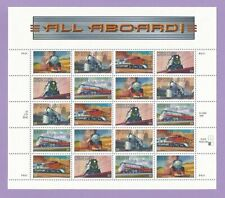 3333 - 3337  US... Famous Trains...  Never Hinged Sheet  issued year 1999