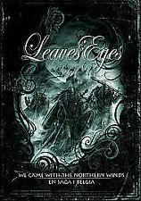 Leaves' Eyes - We Came With The Northern Winds/Saga I Belgia (DVD, 2009, 4-Disc Set, Two Discs And Two CDs)