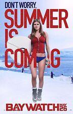 Baywatch Movie Poster (24x36) - Kelly Rohrbach, Alexandra Daddario v8