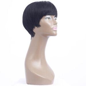 Wigs Short Straight Human Hair Wigs Pixie Cut Brazilian Hair Wigs for Black Wigs
