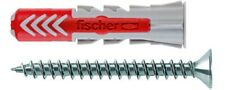 FISCHER Dübel Duopower Durchmesser 5,6, 8,10mm + Schraube Kopf Senkkopf