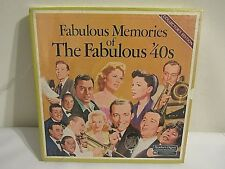 Fabulous Memories of the Fabulous 40's 1981 Readers Digest 8 LP's