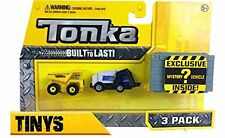 Tonka Tinys 3 pack of vehicles - includes one mystery vehicle NEW 2017