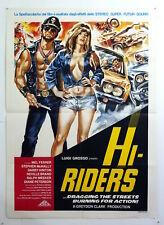 italy poster 2sh-HI-RIDERS-MEL FERRER-GREYDON CLARK-BIKERS MOTO-B25-3