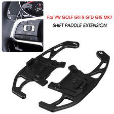 2x Steering Wheel Shift Shifter Paddles For VW GOLF GTI R GTD GTE MK7 2013-2018