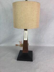 Robert Abbey Inc Lamp Wood Desk Light NEW Lighting Craftsman Style