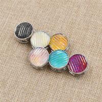 Fashion Metal Magnetic Button Muslim Hijab Scarf Clip Brooch Pin Accessories 2x