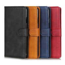 Luxury Matte Wallet Leather Flip Case Cover For LG Q60 K50 G8X K40s K50s Stylo 5
