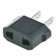 European Euro EU to US USA Travel Charger Adapter Plug Outlet Converter (NEW)
