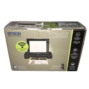 Epson Workforce WF-100 Wireless Mobile Printer New Open In Box