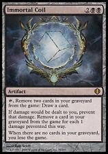 1x Immortal Coil Shards of Alara MtG Magic Black Artifact Rare 1 x1 Card Cards