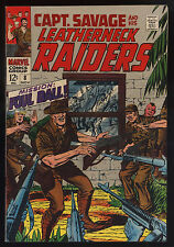 Captain Savage and his Leatherneck Raiders #8 Nov 1968 Nm 9.4 W Marvel Comics