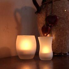 1 LED Windlicht flackernd wie echte Kerze / Shake ON und Blow OFF flammenlose