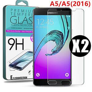 Glas Folie Schutz Bildschirm aus Gehärtetem Glas für Samsung Galaxy A5/A5 (2016)