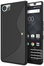 S Line Soft Gel TPU Silicone Case Cover Skin For Blackberry Keyone