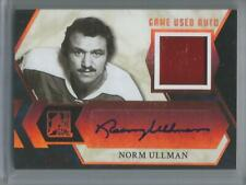 2016-17 Leaf  ITG  #GUA-NU1,  Norm Ullman  Game Used Autographed Card  #15/25