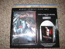 Sweeney Tood 2-Disc DVD Reg. 2 Steelbook Lenticular Slip Fleet Street Gift Set