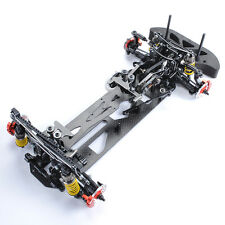 1/10 G4 Alloy Carbon Fiber Drift chassis 4WD 1:10 RC Racing Car Model Frame Kit