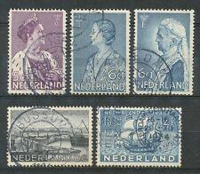 Nederland  265 - 269 gebruikt (5)