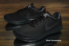 Nike Free RN 2017 Black Anthracite 880840-003 Running Shoes Women's - Multi Size