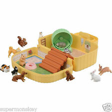 TAKARA TOMY ANIA ANIMAL ADVENTURE HAMSTER FAMILY CARRY BOX AN84888