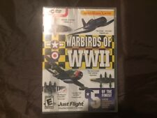 Warbirds of WWII PC Add-on to FSX and FS2004 Brand New Sealed RARE