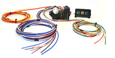 UNIVERSAL 12 CIRCUIT WIRING HARNESS HOT ROD STREET ROD MUSCLE CAR