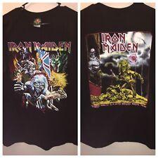 VTG Iron Maiden Shirt Rock Metal Band Tour Concert Metallica Judas Priest Slayer