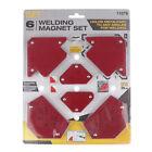 6 Pcs/Set Triangle Welding Magnetic Holder Fixed Angle Soldering Locator Welder