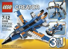Lego Creator 31008 Thunder Wings 3 in 1 Box Building Kids Toy Kit NEW