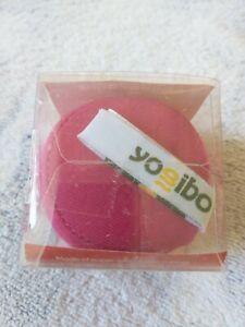 Yogibo Squeezibo Squeezable Rose/Maroon Stress Ball - New in Box